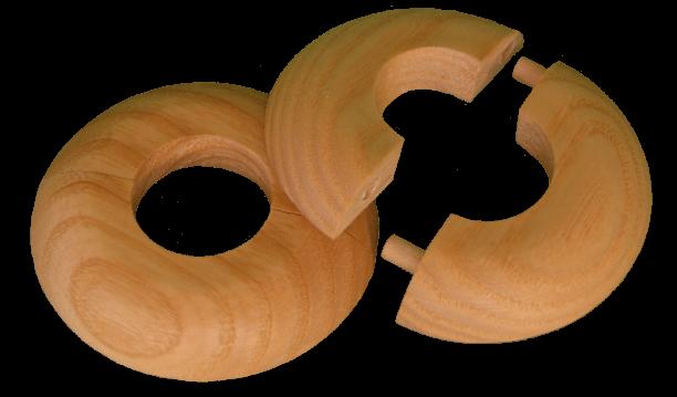 Bukové rozety pro dřevěné podlahy