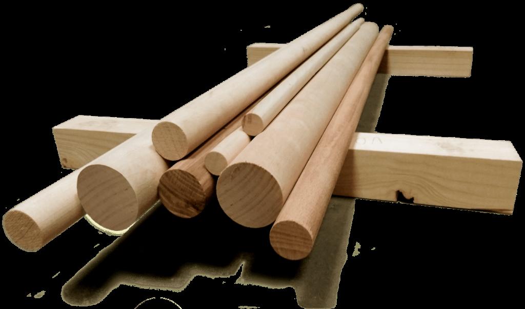 dřevěná kulatina