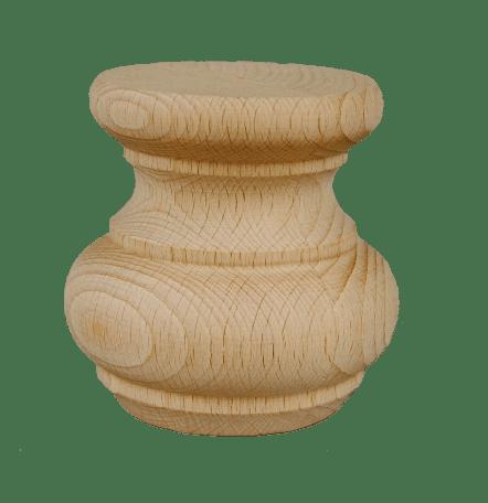 Dřevěná soustružená noha k nábytku